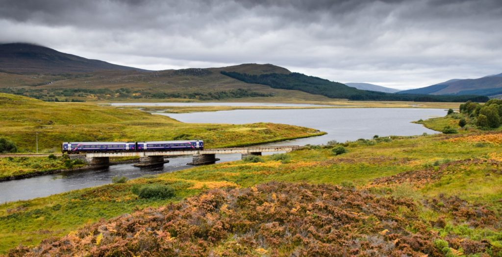 Skye Line Kyle Inverness Scotland by Joe Dunckley Shutterstock