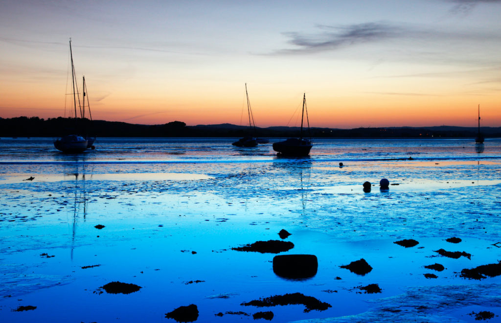 Exe Estuary Sunset Devon by Ollie Taylor Shutterstock