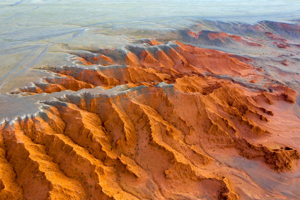 Flaming Cliffs Gobi Desert Mongolia by Kokhanchikov Shutterstock