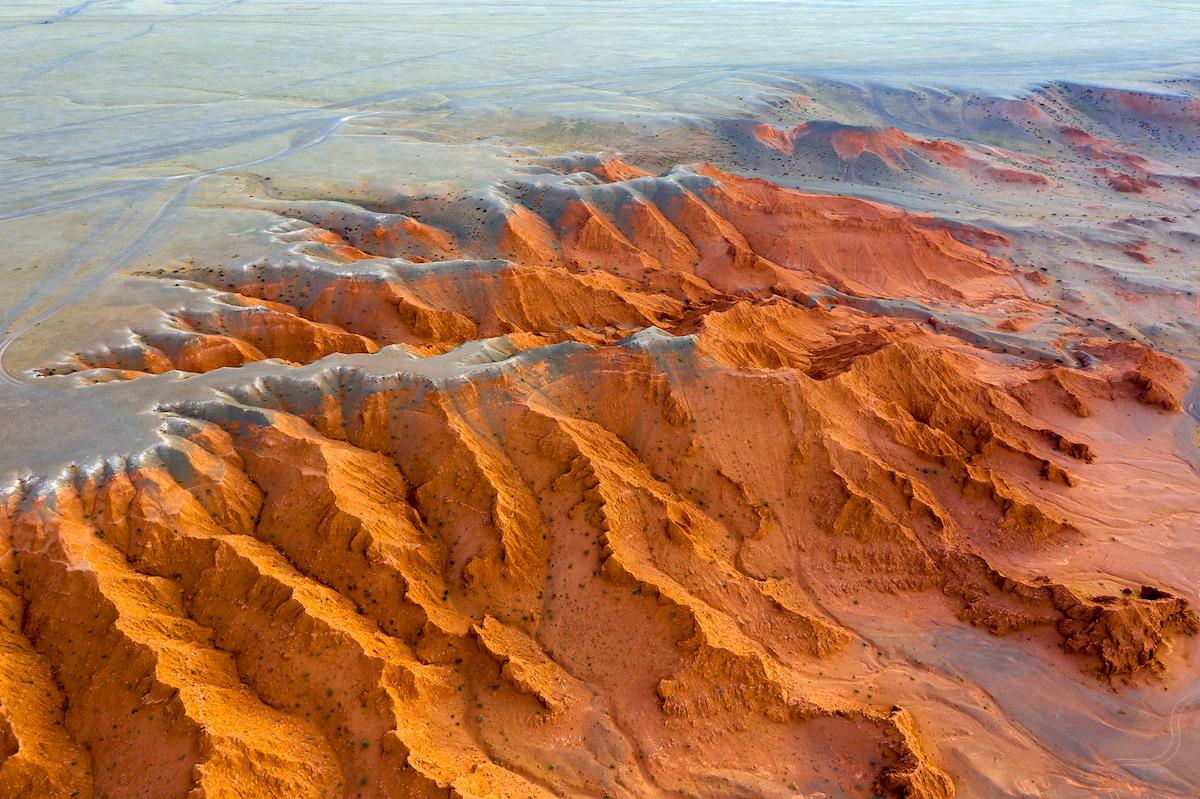Flaming Cliffs Gobi Desert Mongolia by Kokhanchikov Shutterstock
