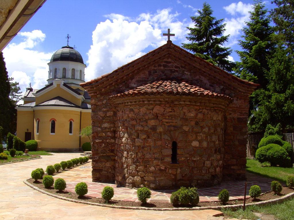Kremikovtsi Monastery Bulgaria by Charly Whisky Wikimedia Commons