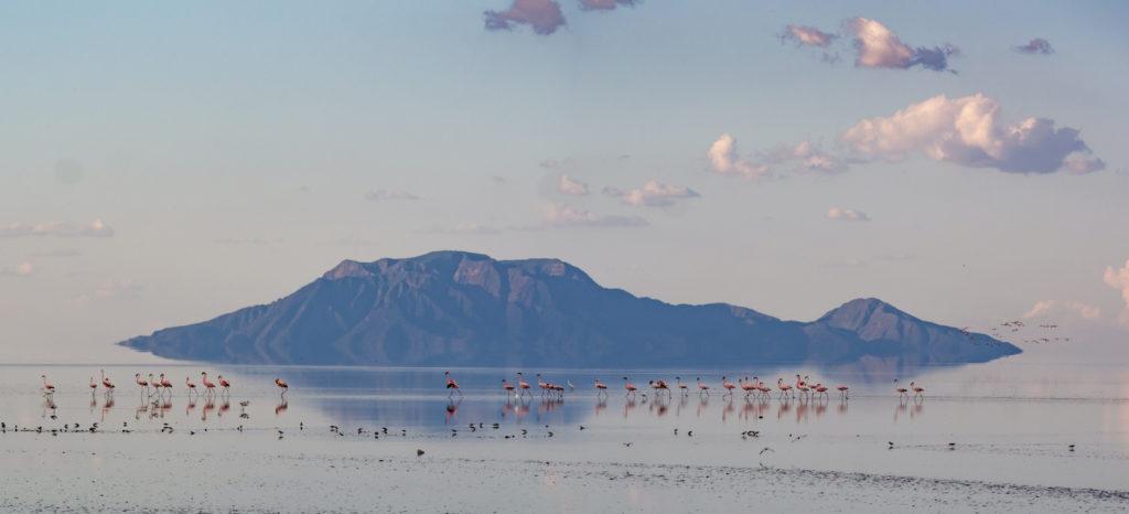 Lake Natron skyline Tanzania byt mathiasmoeller Shutterstock