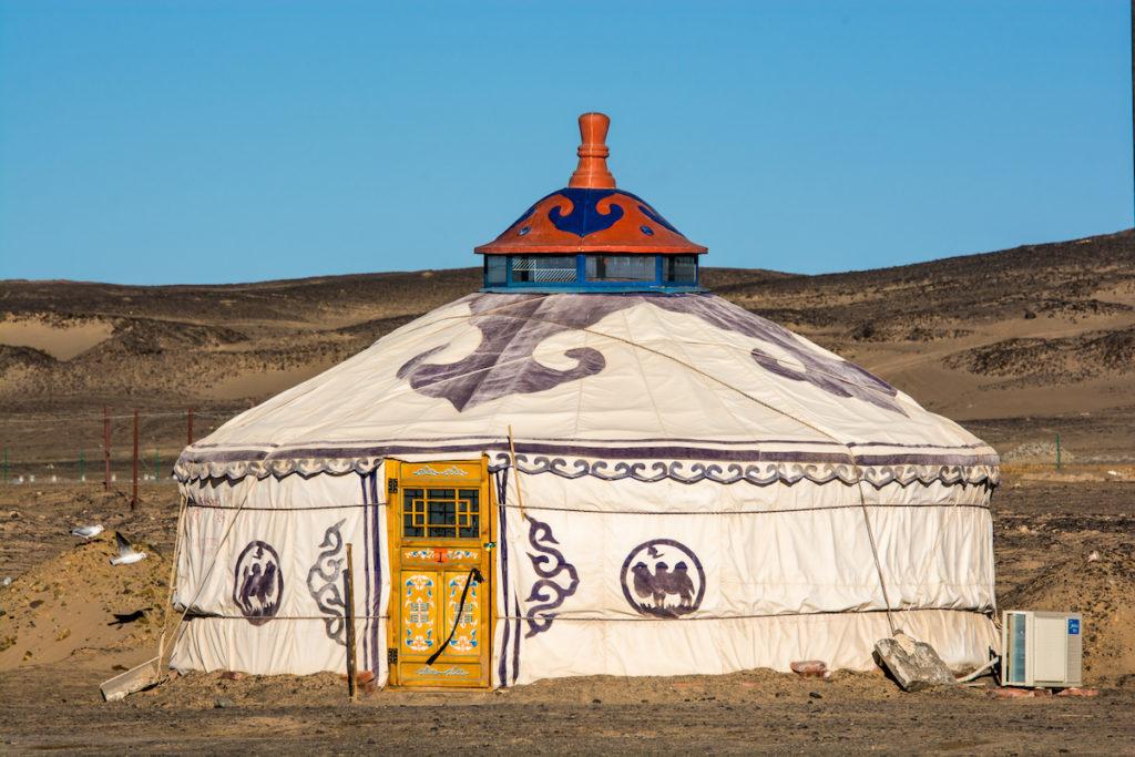 Mongolian yurt ger Gobi by SIHASAKPRACHUM Shutterstock