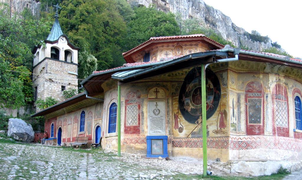 Preobrazhenski Monastery Bulgaria by maya_alis, Wikimedia