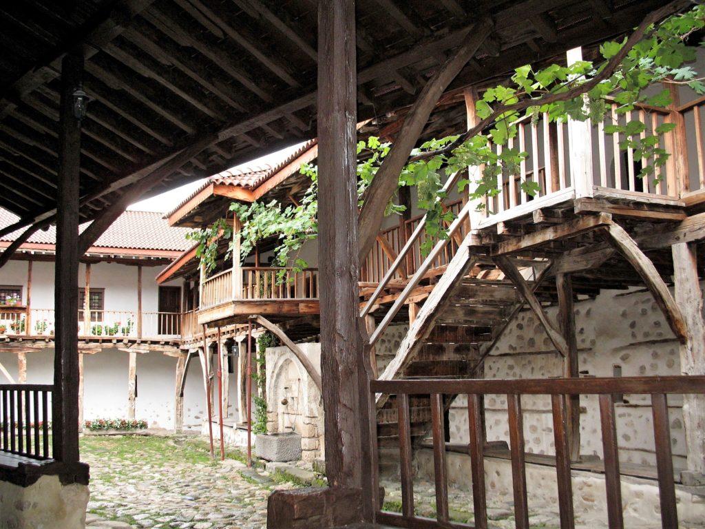 Rozhen Monastery Bulgaria by Marie Čcheidzeová Wikimedia