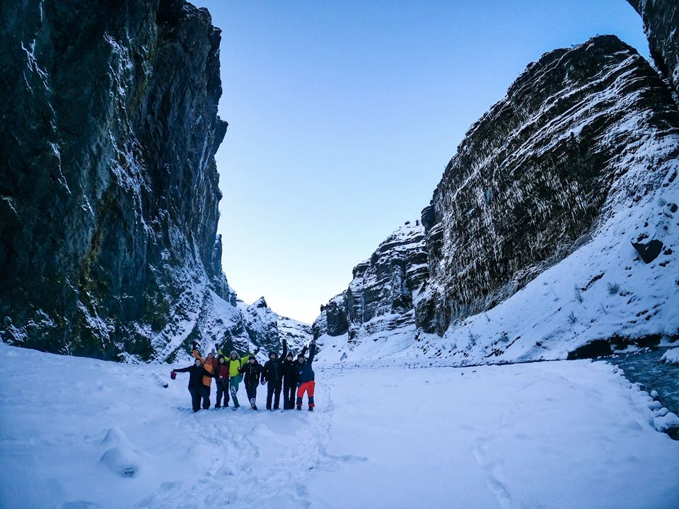 Thorsmork Iceland People by Amarok Adventures