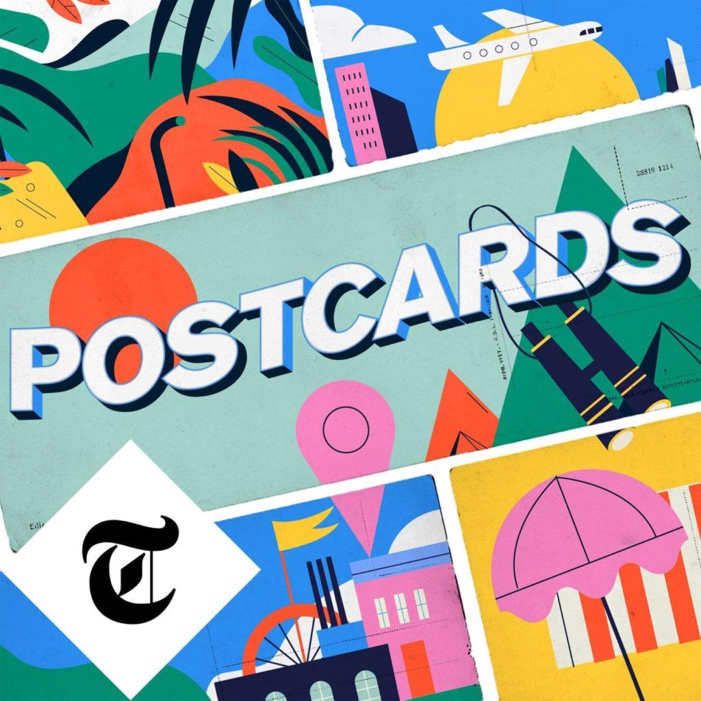 Postcards best travel podcasts