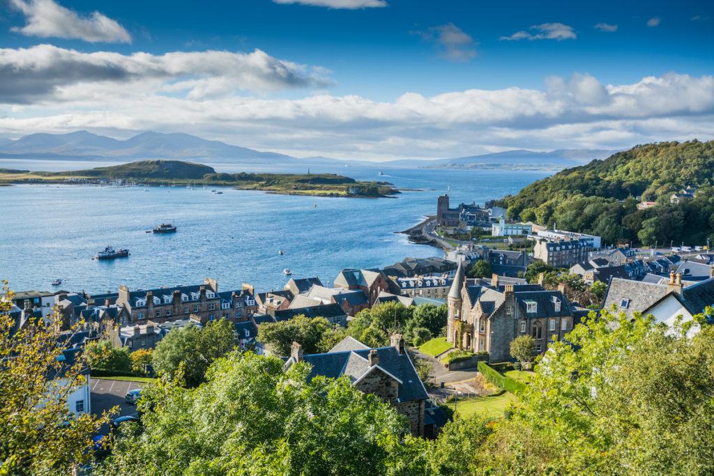 Oban Line Scotland Scottish rails trips by Philip Birtwistle Shutterstock