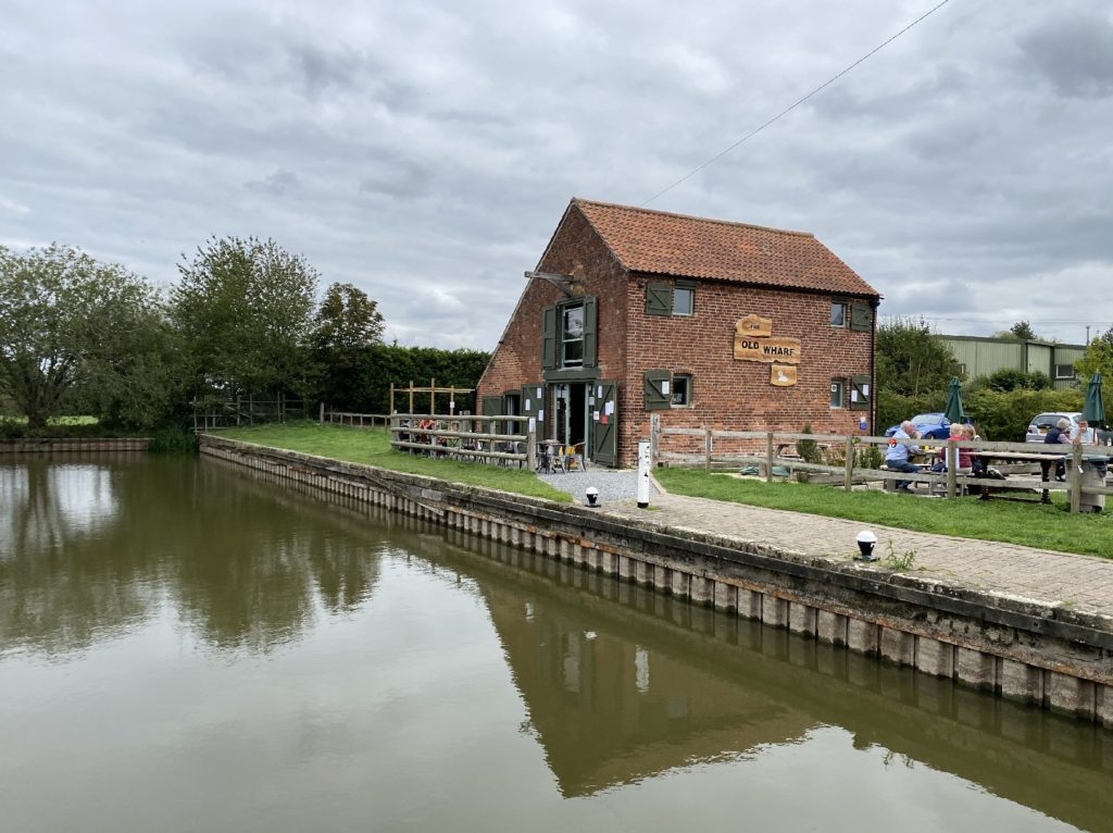 Old Wharf Tearooms Grantham Canal Path