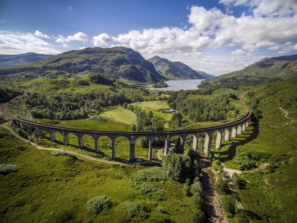 Glenfinnan Viaduct West Highland Line by VisitScotland