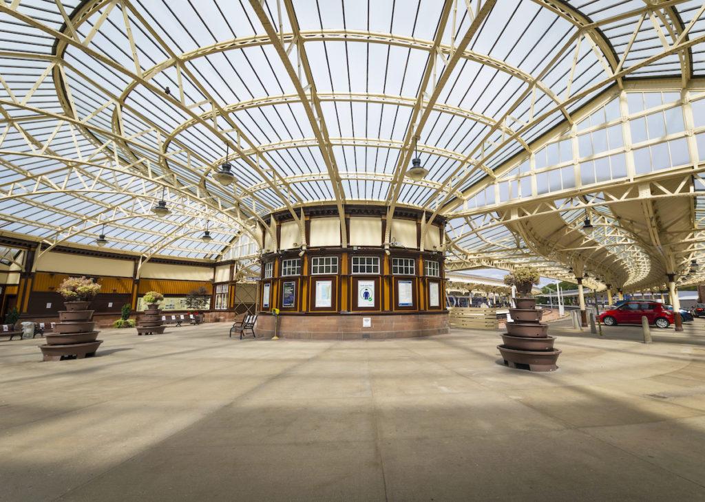 Wemyss Bay Station Scotland Scottish rail trips by Kenny Lam VisitScotland