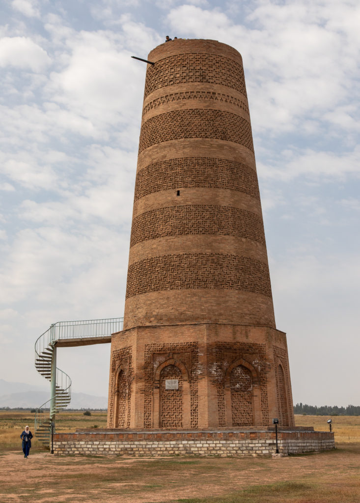 Burana Tower Kyrgyzstan cultural heritage by Bharat Patel