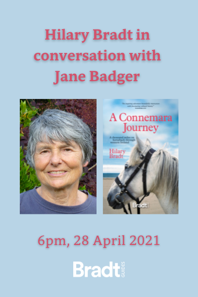 An illustrated talk and Q&A: Hilary Bradt in conversation with Jane Badger – 28 April 2021