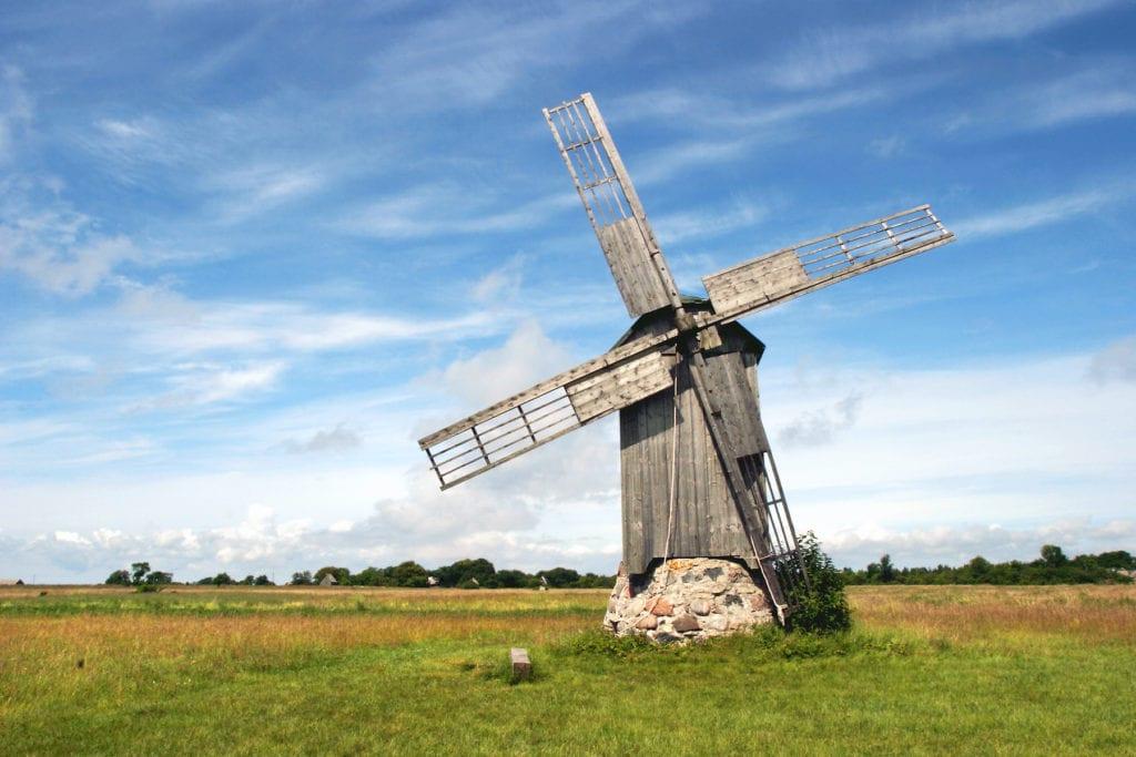 Estonia Windmill by Ad Oculus Shutterstock