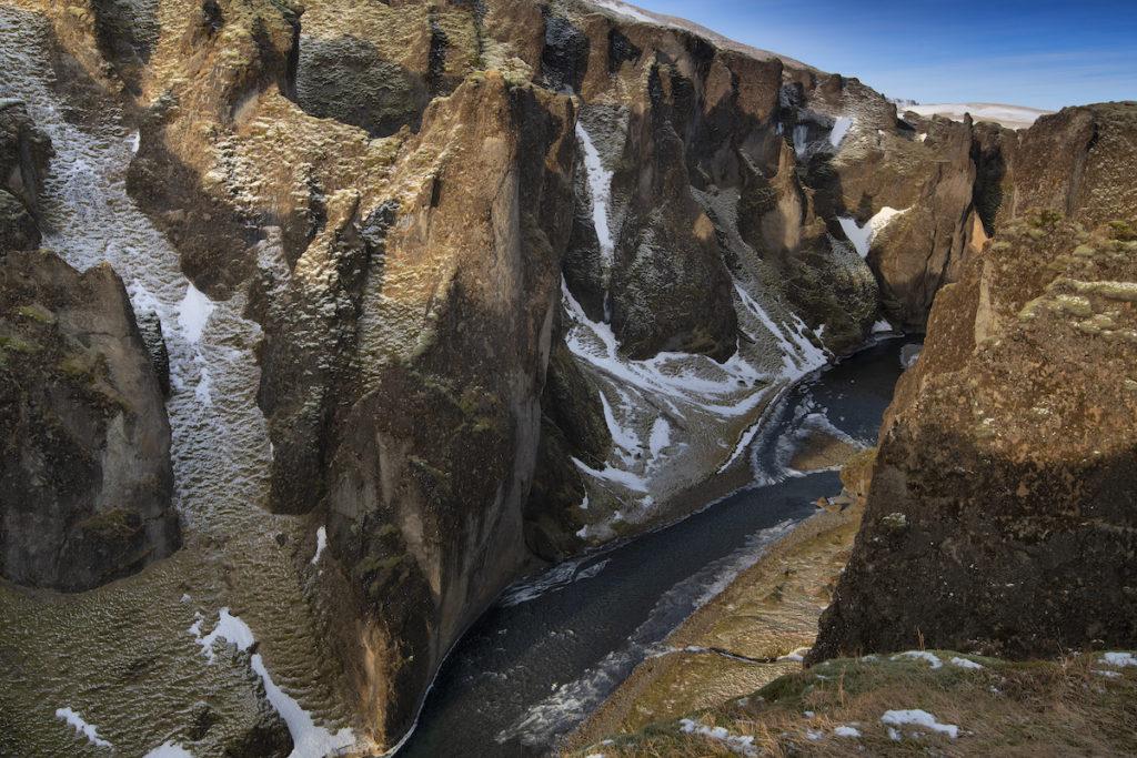 Fjaðrárgljúfur Canyon by Scott Bennett