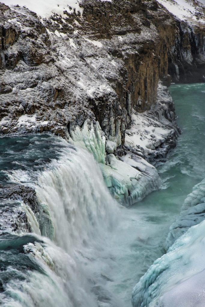 Gullfoss Waterfall Iceland by Scott Bennett