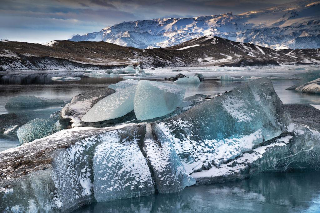 Jökulsárlón Lagoon by Scott Bennett