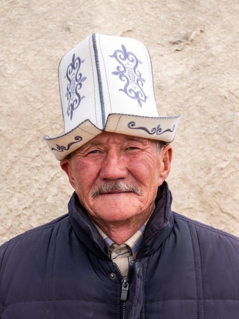 Traditional Kalpak hat Kyrgyzstan cultural Heritage by Bharat Patel