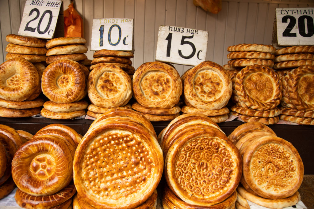 Traditional Kyrgyzstan cultural heritage Bread by Bharat Patel