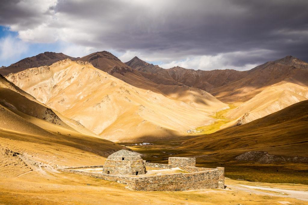 Tash Rabat Kyrgyzstan by Bharat Patel