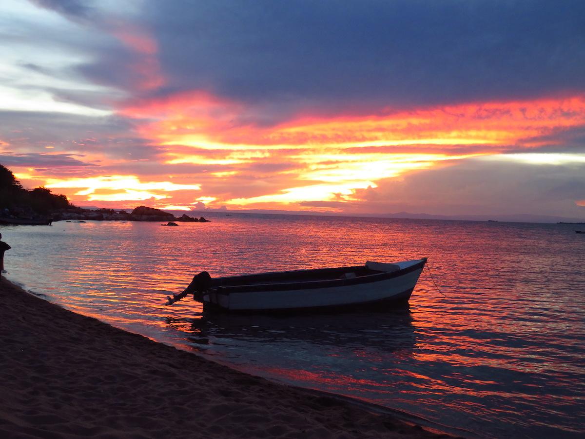 Likoma Island Sunset Beach Malawi by Matt Smith