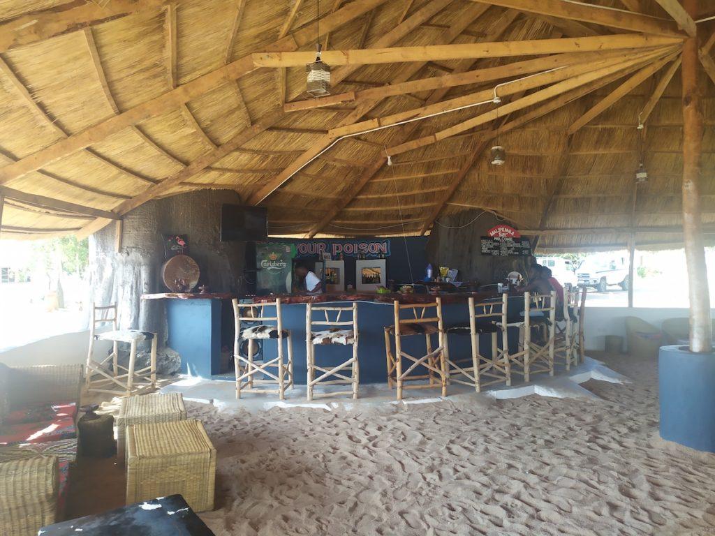 Empty Bar Likoma Island Malawi by Matt Smith