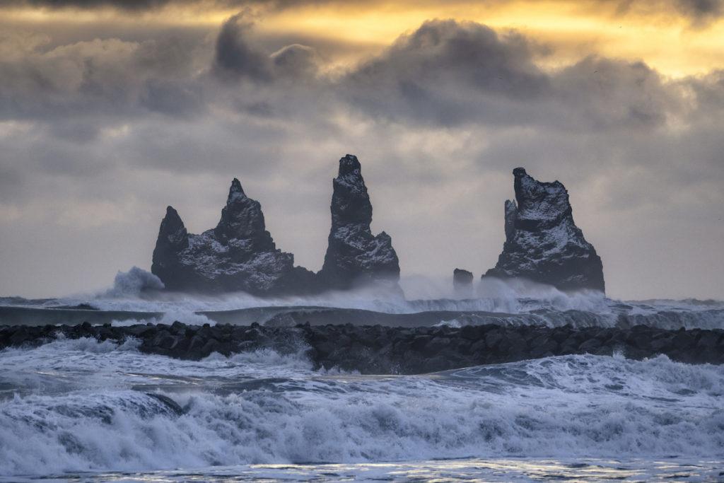 Reynisdrangar Rocks by Scott Bennett