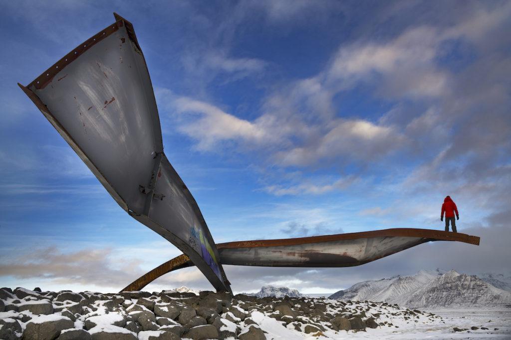 Skeiðarár Bridge Memorial by Scott Bennett