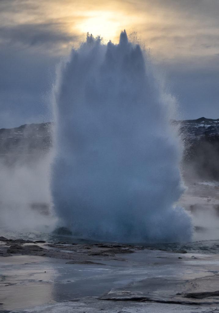 Strokkur Geysir Iceland by Scott Bennett