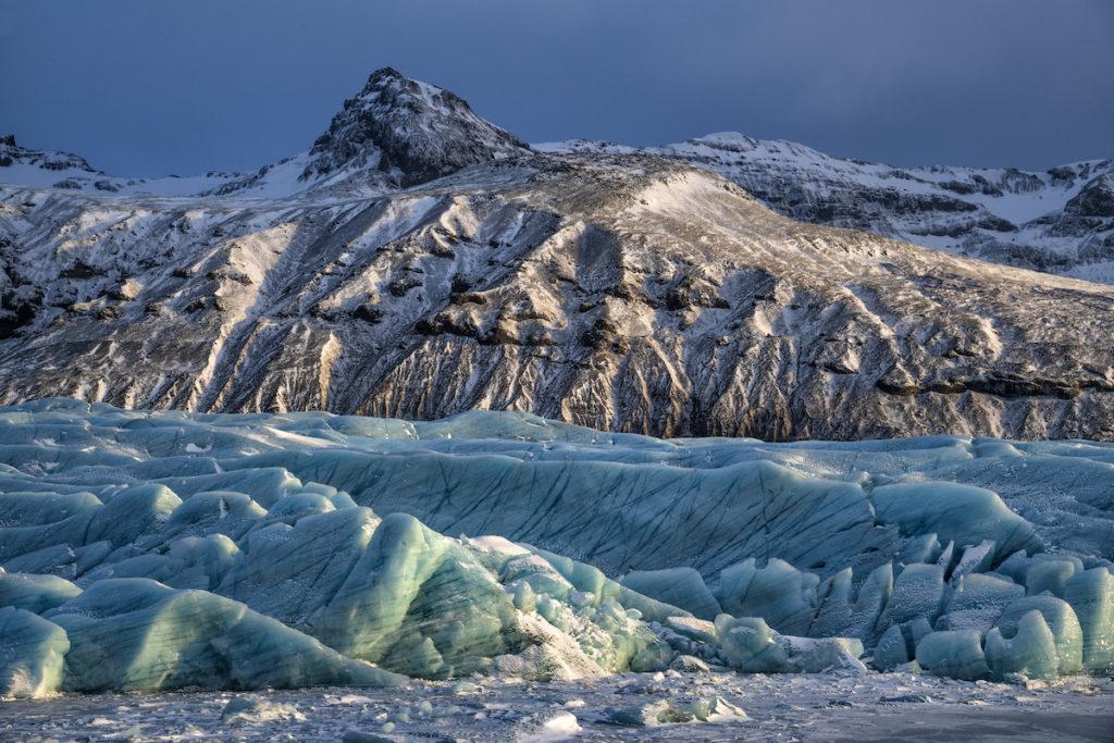 Svínafellsjökull Glacier Iceland by Scott Bennett