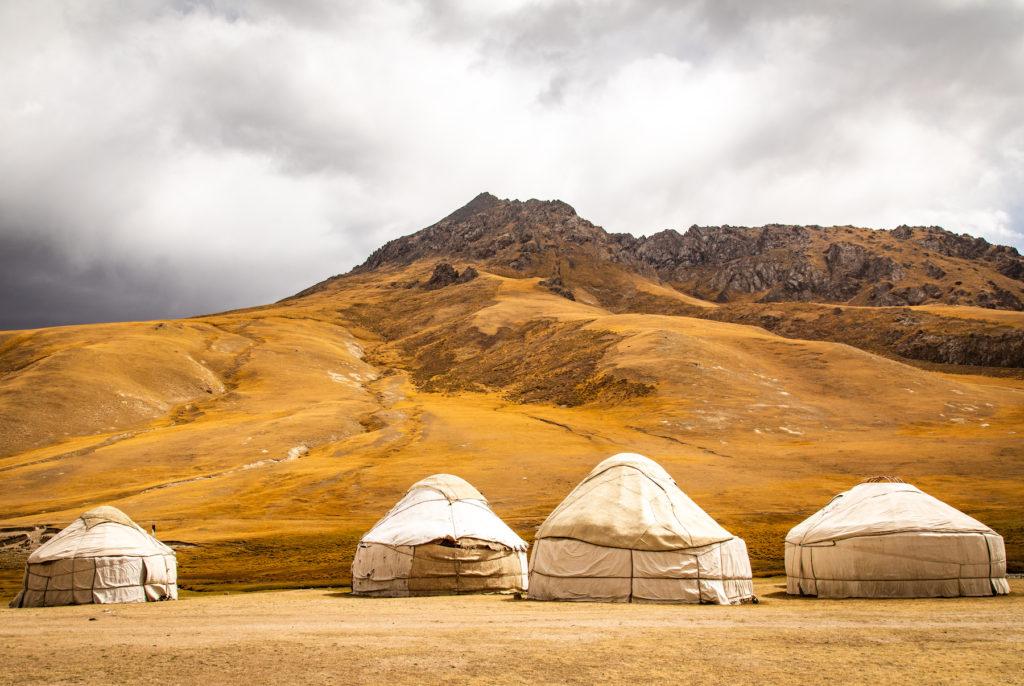 Traditional Yurt Kyrgyzstan by Bharat Patel