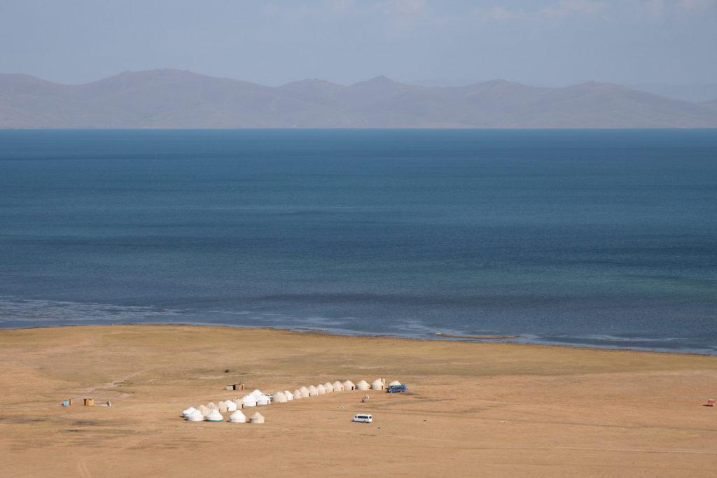 Traditional Yurt Kyrgyzstan Tourism by Bharat Patel