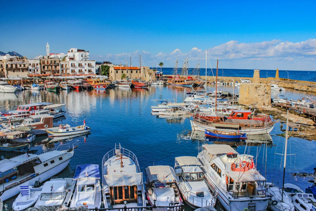 Girne North Cyprus Harbour by  Cem OZER Shutterstock