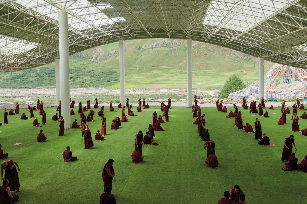 Tibet Arles Open walls by Nicholas Holt