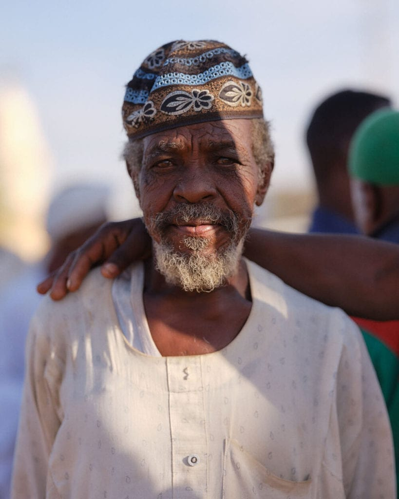 Sufi ceremony portrait Sudan by Nicholas Holt