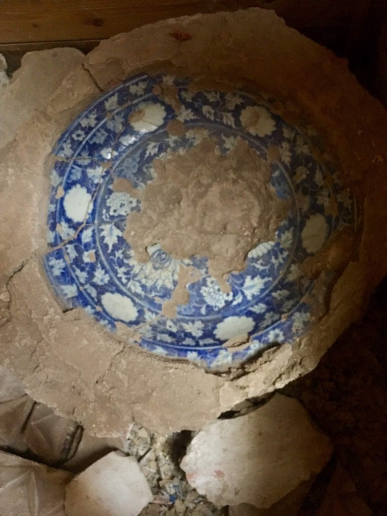 Excavations Castle Karon Tajikistan by Sophie Ibbotson