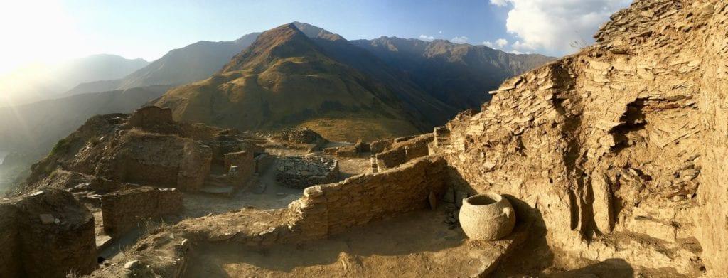 Castle Karon Ruins Tajikistan Sophie Ibbotson