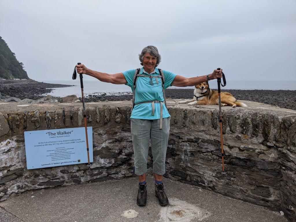 Lynmouth Devon Coast to Coast Trail by Hilary Bradt