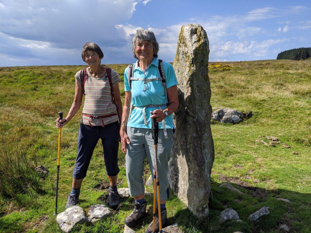 Dartmoor Standin Stones Devon Coast to Coast Trail by Hilary Bradt