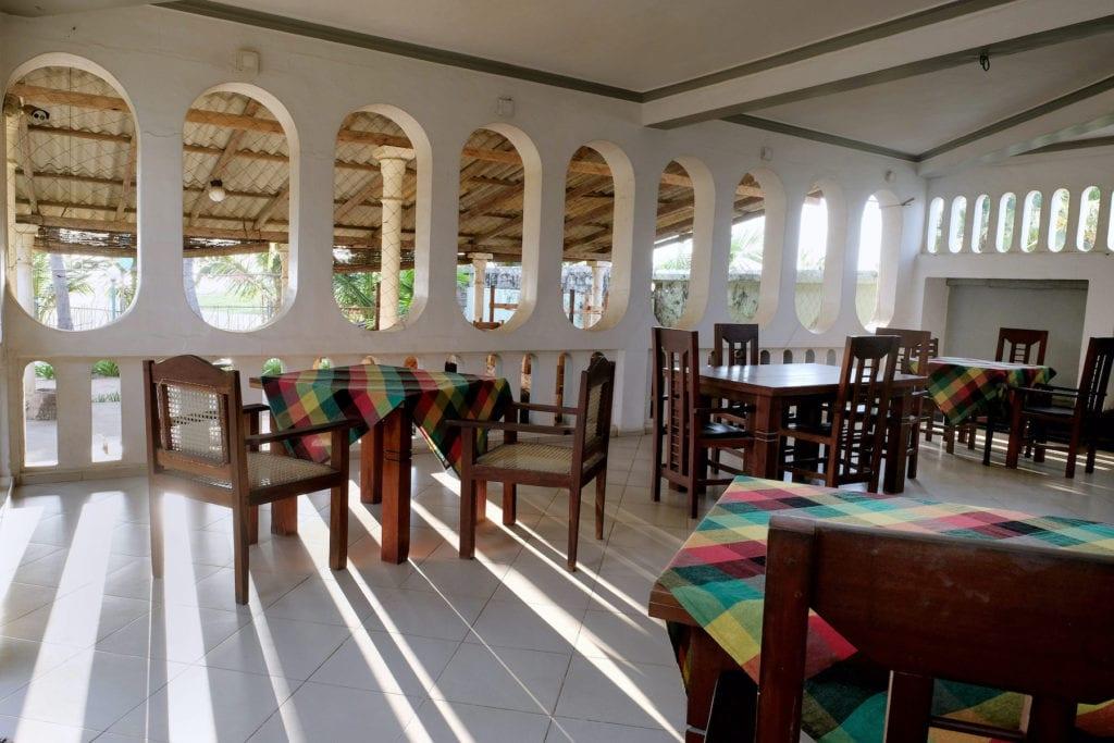 Empty restaurant Colombo Sri Lanka by Nancy Chuang