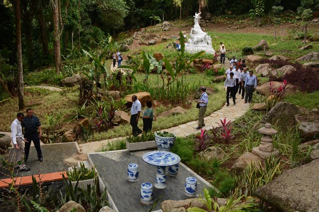 Botanical Gardens Victoria Seychelles by Patrick Joubert Seychelles News Agency Wikimedia Commons