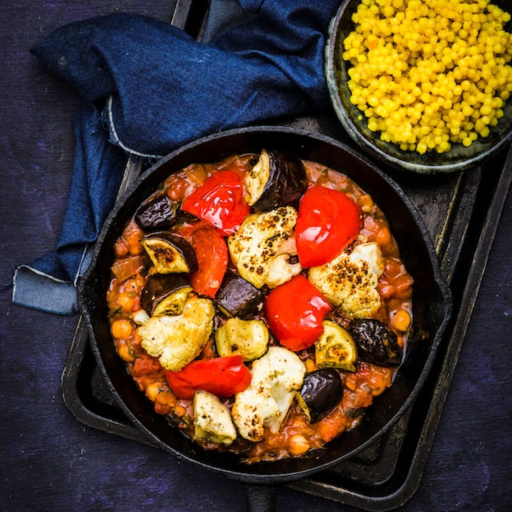 vegan tagine recipe © Feast Box