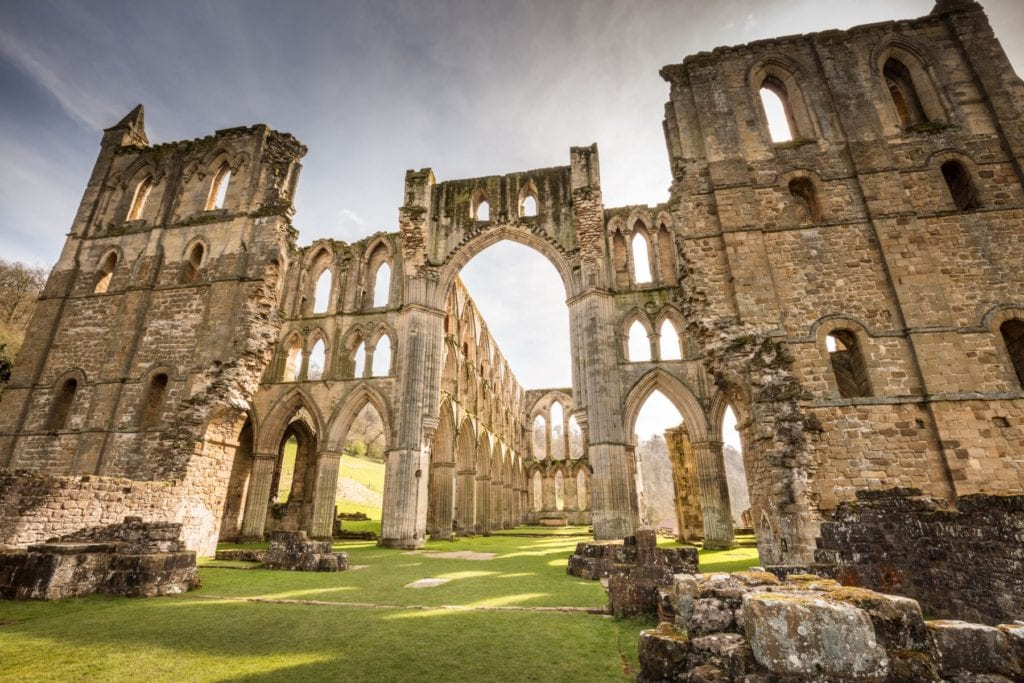 Rievaulx Abbey, Yorkshire, Michael D Beckwith