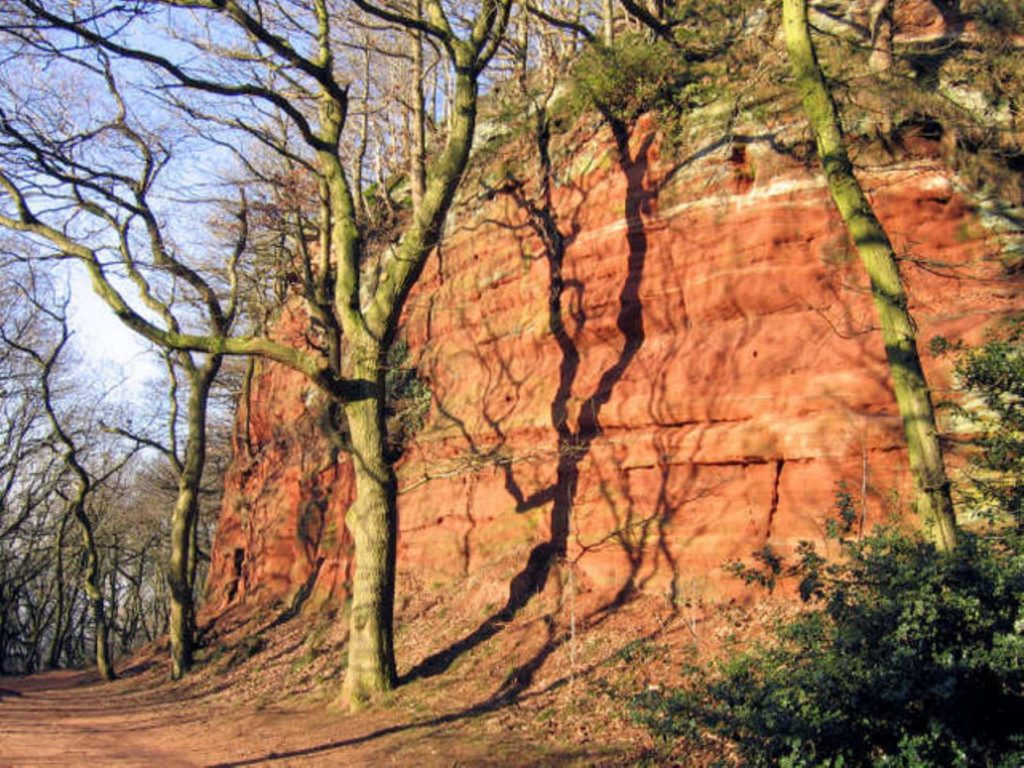 The Sandstone Trail, Cheshire, Alan Godfree