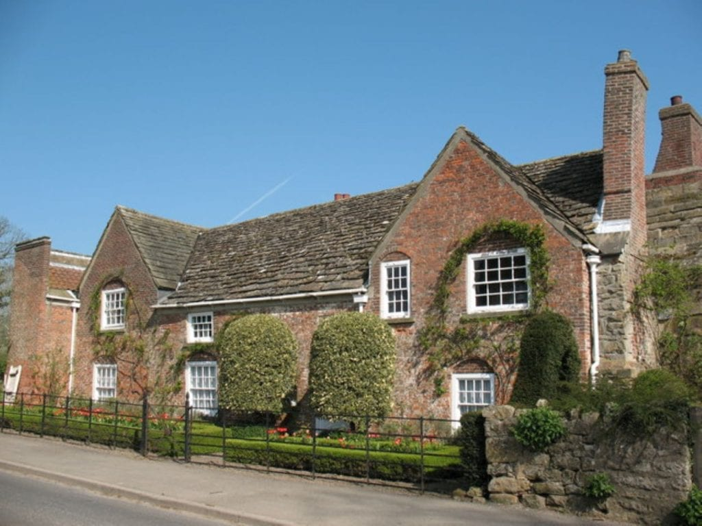 Shandy Hall, Coxwold, Yorkshire, Brian D Osborne