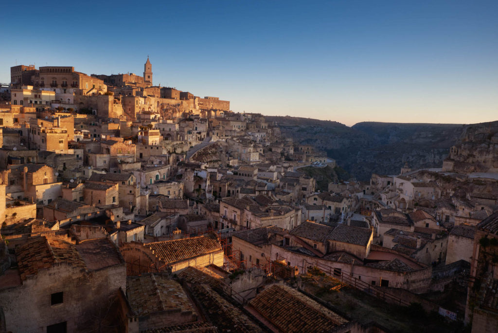 Matera September Travel Club issue by Simon Urwin