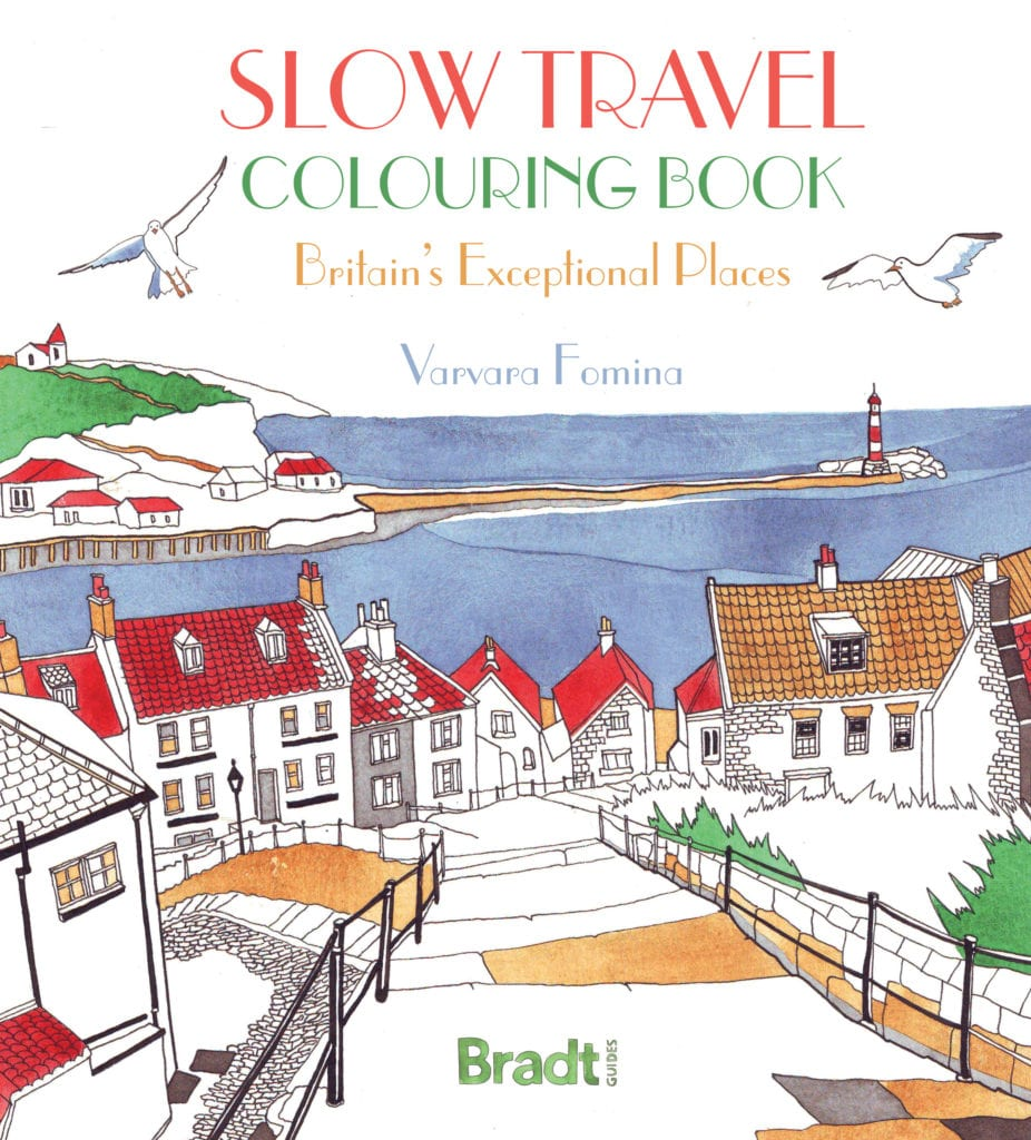 Slow Travel Colouring Book: Britain's Exceptional Places