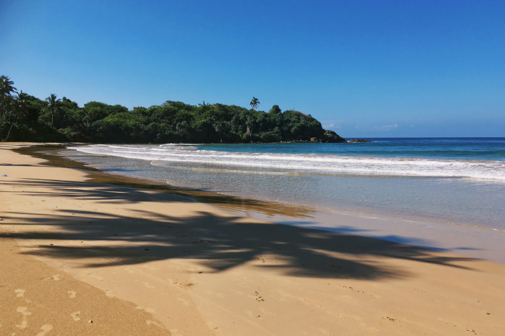 Sri Lanka Empty Beach by Nancy Chuang