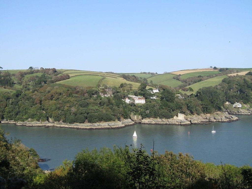 The River Dart, South Devon, Partonez