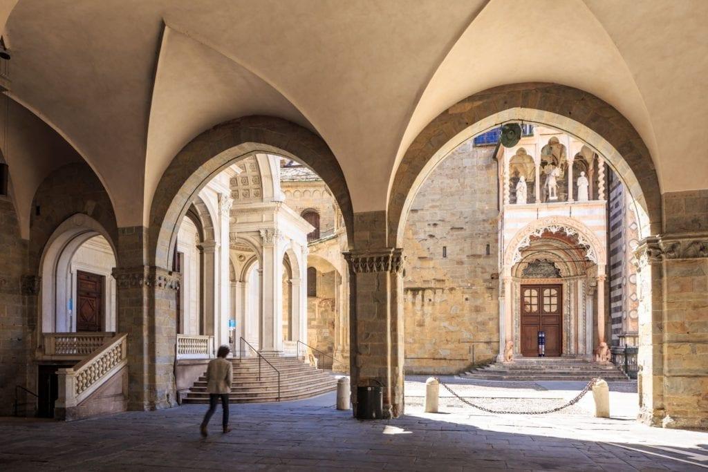 The Piazza Vecchia, Bergamo, Italy, Julian Elliott